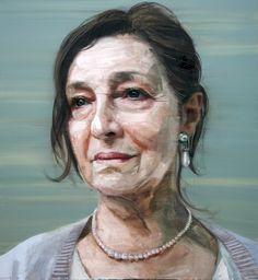 Colin Davidson - Soul To Keep  (Portrait of Stella McCusker) 2011 oil on linen 127 x 117 cm