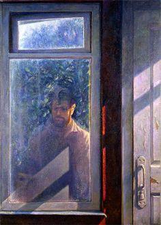 Касаткин н. Семейный портрет . Деревенские окна 1987