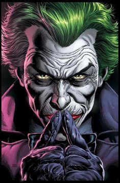 Batman: Three Jokers Book One cover by Jason Fabok, colours by Brad Anderson * Joker Comic, Joker Dc Comics, Joker Pics, Joker Art, Dc Comics Art, 3 Jokers, Three Jokers, Batgirl, Jason Todd