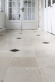 Hall Tiles, Checkered Floors, Entrance Hall, Travertine, Tile Floor, Sunrooms, Flooring, Mansions, Luxury