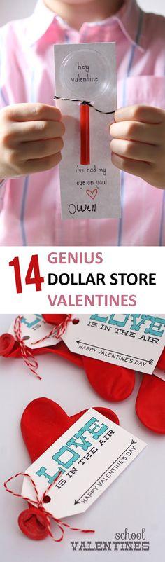 14 Genius Dollar Store Valentines - Sunlit Spaces
