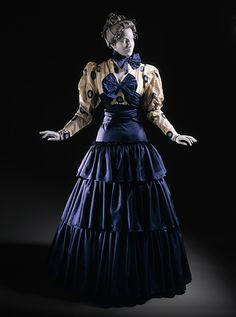 Erte | Costume for Ganna Walska as Zazà in 'Zazà', Act II | c. 1920