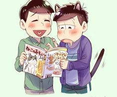 Discovered by Asleep. Find images and videos about osomatsu-san, ichimatsu matsuno and choromatsu matsuno on We Heart It - the app to get lost in what you love. Tumblr, Love Him, We Heart It, Fan Art, Ideas, Anime, Fictional Characters, Pixiv, Cartoon