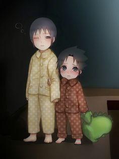NARUTO, Uchiha Sasuke, Uchiha Itachi, Adorably Cute. You Can Do It 2. www.zazzle.com/Posters?rf=238594074174686702