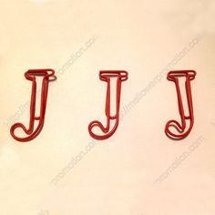 22 best shaped paper clips letters images on pinterest paper
