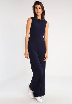 MARTHA - Overall / Jumpsuit /Buksedragter - navy - Zalando. Overall Jumpsuit, Ben, Navy, Jumpsuits, Overalls, Dresses, Fashion, Catsuit, Catsuit