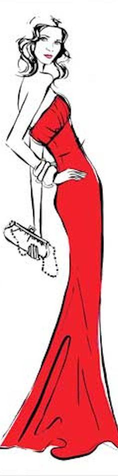 ♔ i l l  p o p {fashion illustration}  Megan Hess