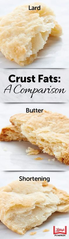 Here's a close look at how different fats affect how your #pie crust will turn out this Thanksgiving. Which do you prefer? Lard? Butter? Or shortening?