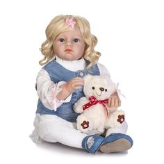"""160.35$  Watch now - http://alirzb.shopchina.info/go.php?t=32810590428 - """"28"""""""" 70CM Silicone Reborn Dolls Babies for Sale Toddler Bonecas Reallistic Girl Baby Alive Reborn Kids Toys Hot Sale Juguetes """"  #magazineonlinebeautiful"""