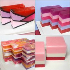 Gift Set  Valentines Day Soaps  Strawberry by asliceofdelight, $24.00
