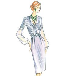 Marfy Shirt-Dress - McCalls F3315