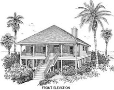 Seashore home plans