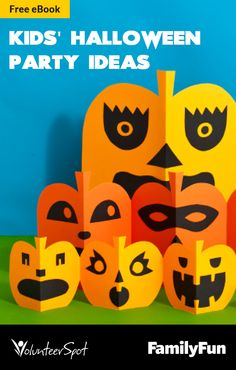 Craft, snack, Halloween games and stories for a killer Halloween class party!