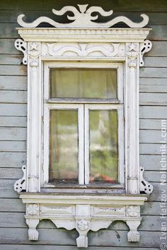 Traditional window frame (Nalichnik) from Egoryevsk, near Moscow, Russia #16