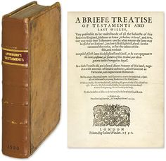 A Briefe Treatise of Testaments and Last Willes, Very Profitable.. | Henry Swinburne