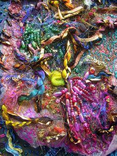 Detail Volcano 1 by Karen Cattoire, via Flickr