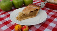 Apple Pie and my sweet shortcrust recipe - new pin. Shortcrust Pastry, Sweet Pie, Apple Pie Recipes, Dessert Recipes, Desserts, Food Lists, Pie Dish, A Food, Food Processor Recipes