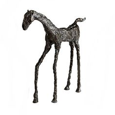 ChezRoulez.com: Cast Iron Filly Sculpture