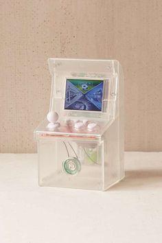 Transparentes, kleines Arcade-Spiel mit 240 Spielen