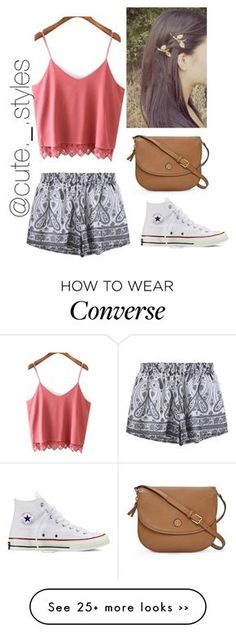 """Untitled #403"" by delanie1282003 on Polyvore featuring Converse and Tory Burch"