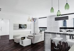 Nowoczesne mieszkanie w bieli