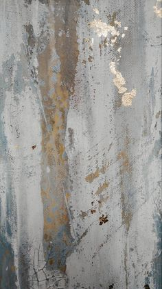 Original Gold Leaf Abstract Painting By Amy Neal, 24 x 24 Modern Canvas Wall Art Modern Mirror Design, Modern Wall, Encaustic Painting, Faux Painting Walls, Vincenzo De Cotiis, Furniture Painting Techniques, Visual Aesthetics, Cy Twombly, Metallic Wallpaper