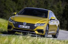 By: Evan Williams Volkswagen's four-door coupe is getting a wagon version, according to new reports from Europe. The sleek Arteon . Porsche, Audi, First Drive, Vw Cars, Love Car, Future Car, Car Photos, Volkswagen Golf, Photo Galleries
