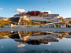 Once the home to the Dalai Lama, this towering 17th-century structure now functions as a state museum. The massive palace has 13 stories and more than 1,000 rooms, as well as centuries-old shrines. For those willing to ascend the 12,000 -foot climb, the main payoff will be the complex's otherworldly Red Palace, filled with murals, bejeweled stupas, and tombs of past Dalai Lamas. —C.M.