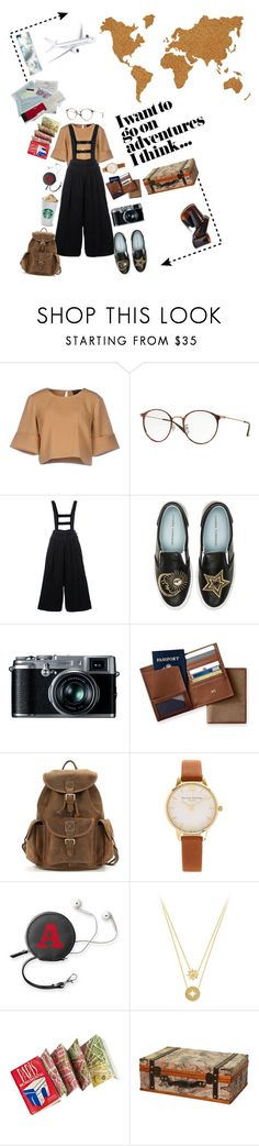 """Take me away"" by safi-a ❤ liked on Polyvore featuring The Fifth Label, Ray-Ban, Chiara Ferragni, Retrò, Mark & Graham, Olivia Burton, Wall Pops! and Barclay Butera"