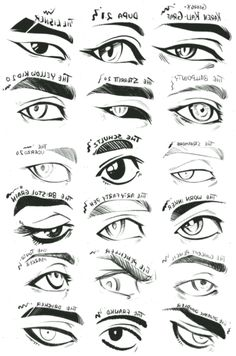 Use this character design reference for your female character illustrations a. Eye Drawing Tutorials, Sketches Tutorial, Drawing Tips, Eye Tutorial, Drawing Techniques, Drawing Art, Drawing Hair Tutorial, Comic Tutorial, Art Tutorials