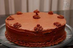 biscocho de chocolate para torta del demonio.-