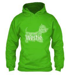 Westie Word Cloud Hoodie