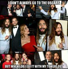 Jared Leto.  Oscars 2015