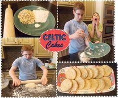 Celtic Cakes Recipe - Ancient Mesopotamia Minibook