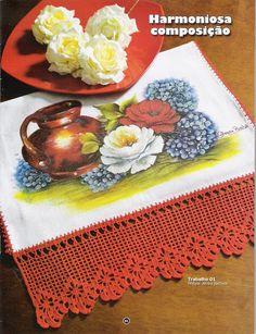 Criando Arte Pintura em tecido & Crochê - Deise bravo bravo - Álbuns da web do Picasa
