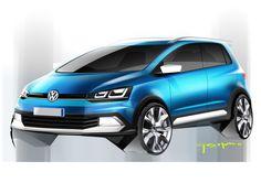 2014 | Volkswagen CrossFox | Render by Gustavo Motta |