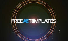 33 Free After Effects Templates