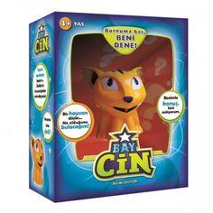 Bay Cin aklını okuyor, seçtiğin hayvanı buluyor!  Bay Cin'in burnuna bas ve onunla oynamaya başla. Aklından bir hayvan tut.  İnanılmaz ama Bay Cin gizli güçleriyle aklını okuyup tuttuğun hayvanın ne olduğunu bulacak!  Pil : 2 x LR44 (kutuya dahildir)