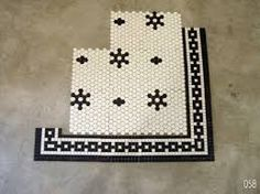 hex tile bathroom - Google Search