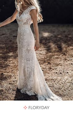 20 Unconventional Wedding Dress Ideas You Will LOVE! - Robin Herrdin 20 Unconventional Wedding Dress Ideas You Will LOVE! 20 Unconventional Wedding Dress Ideas You Will LOVE!, Wedding Dress Ideas Are Vintage Inspired Wedding Dresses, Rustic Wedding Dresses, Hippie Wedding Dresses, Wedding Reception Dresses, Boho Wedding Dress Backless, Autumn Wedding Dresses, Rustic Wedding Hair, Vintage Boho Wedding Dress, Casual Lace Wedding Dress