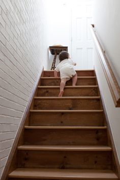 Catch your little one crawling up the stairs! It makes for a great photo don't you think :) #togally #baby