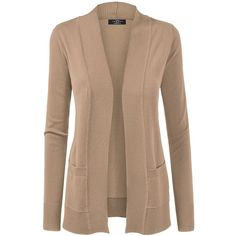 Linea Machine washable merino LS cardigan (115 CAD) ❤ liked on ...