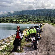 "@kupthai's photo: ""Life is journey. #kup-Thai #kupthai #versys #thailand #motorrad #swmotech #road #trip"""