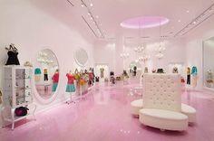 Nanette Lepore boutique interior