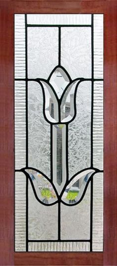 Leaded Glass Cabinets, Glass Cabinet Doors, Custom Cabinet Doors, Custom Cabinets, Small Doors, Custom Glass, Glass Design, Windows And Doors, Tulips