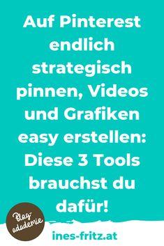 Du willst mehr Reichweite für deinen Blog? Oder einfache Grafiken und Videos erstellen? Diese Tools machen es möglich!