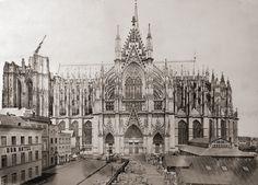 Der Dom, Cöln (Cologne / Köln), 1870s   Photographer: William England