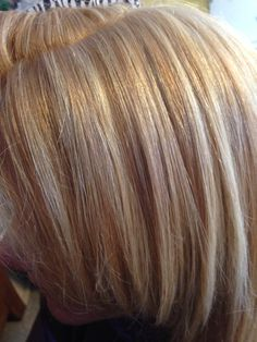 Blonde on blonde hair foils