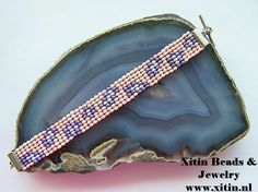 Pink Leopard bead weave bracelet Woven Bracelets, Jewelry Bracelets, Pink Leopard, Bead Weaving, Weave, Bags, Fashion, Fabric Bracelets, Handbags