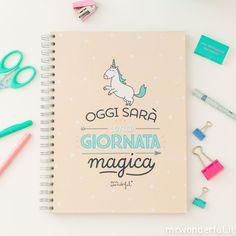 Quaderno grande - Oggi sarà una giornata magica (IT)